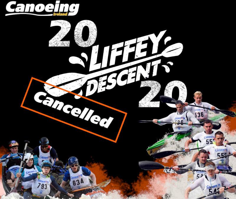 Liffey Descent 2020 Cancellation